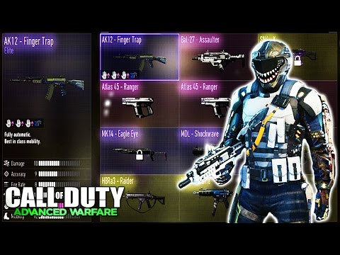 comment debloquer equipement call of duty advanced warfare