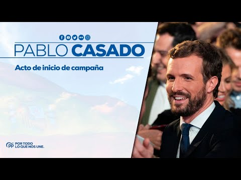 Pablo Casado: El PP vuelve con más fuerza para representarles, serviles y gobernar