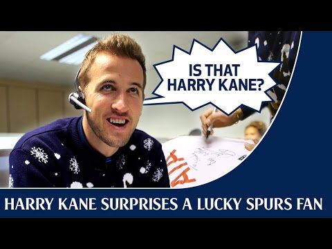 Video: Harry Kane surprises a lucky Spurs fan with a Christmas call
