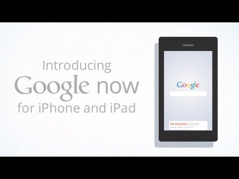 0 Google Now for iPhone & iPad
