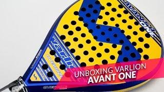video Unboxing Pala de pádel Varlion Avant One 2016