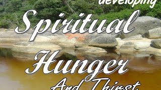 20170317 l KSM l Telugu l Keys to Developing Spiritual Hunger & Thirst l Pas. Michael Fernandes