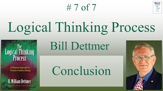 (En) 7 Of 7 - Logical Thinking Process - Conclusion