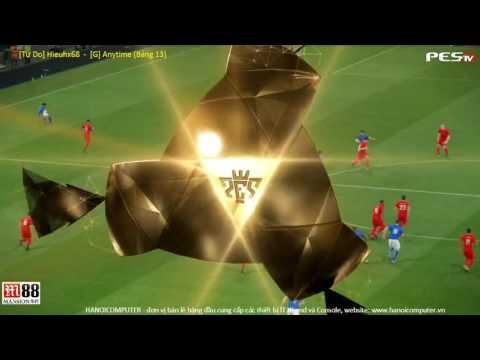 PES 2017 | Hieuhx68 (ITA) vs [G]Anytime (LIV) | PES Random Cup 2016 | Group 13