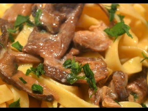 tagliatelle ai funghi porcini - la ricetta definitiva
