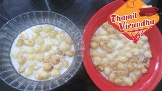 pal paniyaram in Tamil ( ENG subtitle ) - coconut milk paniyaram recipe - chettinadu special recipe