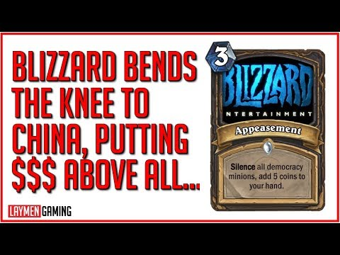 Blizzard Sells Out Democracy & Free Speech In Pursuit of Chinese Market