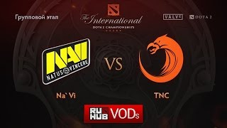 Na'Vi vs TnC, game 1