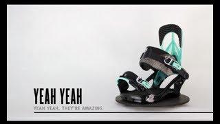 K2 Yeah Yeah Snowboard Bindings - Women's 2014