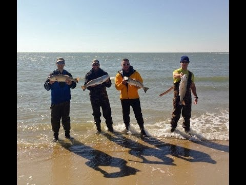 TONS OF REDFISH – Cape Lookout, NC Nov 2013, Part 2