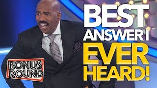 Video BEST ANSWERS STEVE HARVEY Has EVER Heard On Family Feud USA MP3, 3GP, MP4, WEBM, AVI, FLV Desember 2018