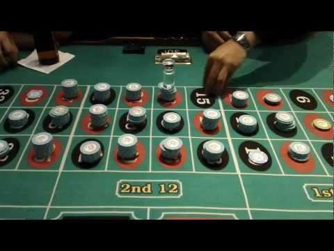 Roulette Hotel Paris las Vegas Big Win