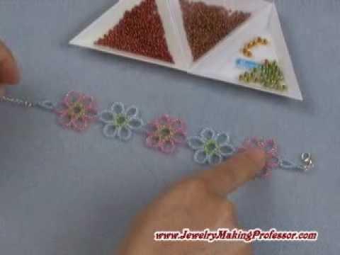 Jewelry Making: Cosmos Flower Bracelet