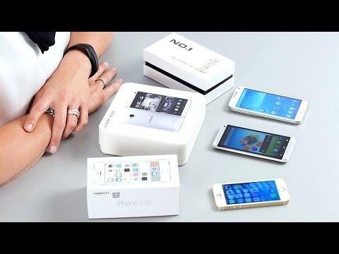 HTC One, Galaxy S5, iPhone 5s - Fake Smartphones - Test deutsch | CHIP