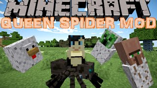 Video UNE ARMEE D'ARAIGNEES !! - MOD QUEEN SPIDER REBORN Minecraft [FR] [HD] MP3, 3GP, MP4, WEBM, AVI, FLV Juni 2017