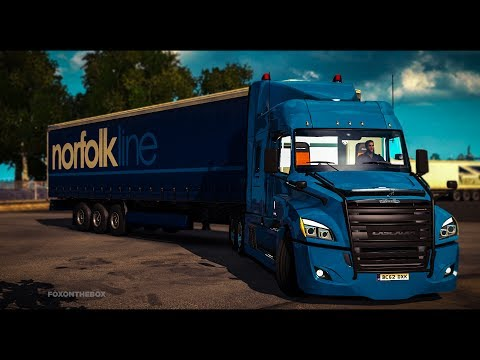 FREIGHTLINER CASCADIA ETS2 1.28.x