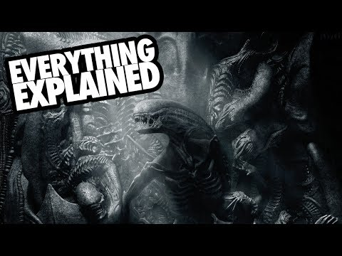 ALIEN COVENANT (2017) Everything Explained + Prometheus Connections
