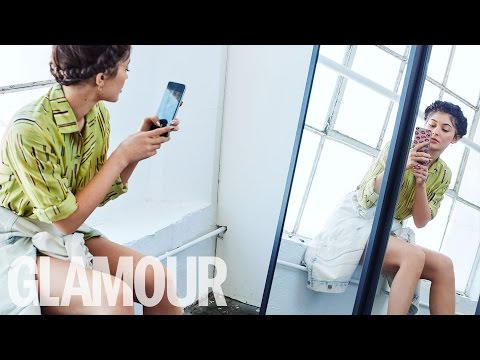Kylie Jenner Looks Natural While Talking Kim Kardashian and Kanye West | Glamour UK