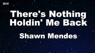 Video There's Nothing Holdin' Me Back - Shawn Mendes Karaoke 【With Guide Melody】 Instrumental MP3, 3GP, MP4, WEBM, AVI, FLV Juli 2018