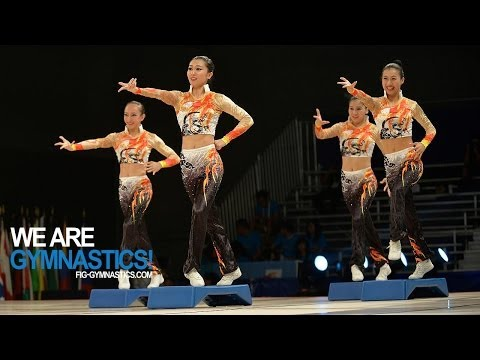 FULL REPLAY - 2014 Aerobic Worlds - Cancun, MEX - Finals Day 2 - We are Gymnastics!