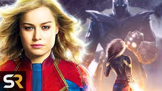 Why Captain Marvel Should Have Dominated Avengers: Endgame by Screen Rant