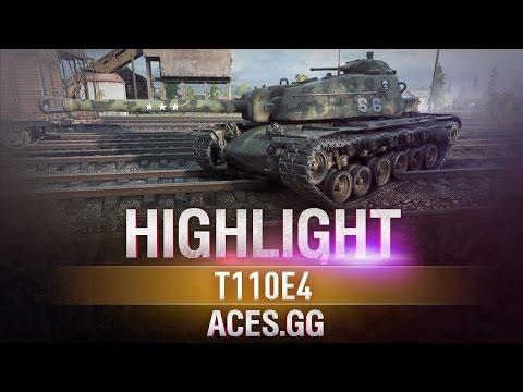 БАБАХ! T110E4 в World of Tanks!