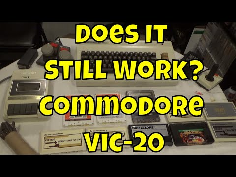 Does It Still Work?  Commodore Vic-20