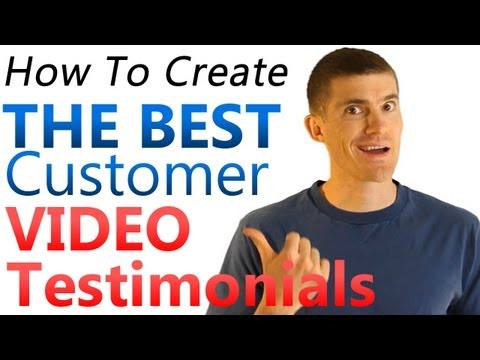 testimonial - Get Your FREE Video Release Form: http://www.soldwithvideo.com/VRF Video testimonials are important for almost every business. They allow you to connect pers...