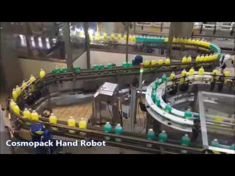 Lane Divider Hand Robot Sorter - Detergents