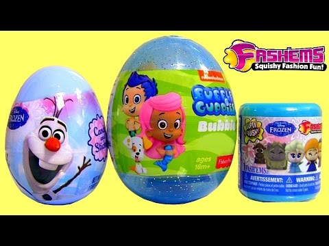 surprise - Today i'm Unboxing the NEW Disney Frozen Fashems Squishy Fashion Elsa Toy along with Chocolate Surprise Eggs Princess Sofia the First, MegaBloks HelloKitty, Snowman Olaf, Kinder Surprise ...
