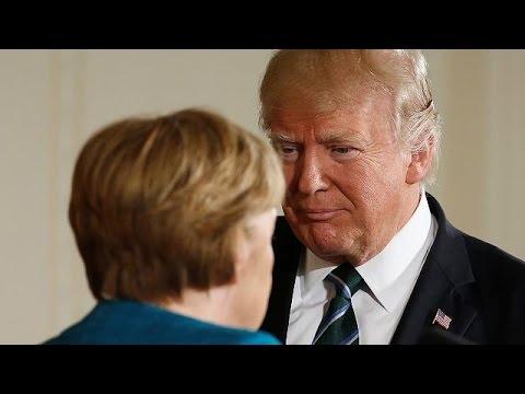Βαρομετρικό χαμηλό στη συνάντηση Τραμπ – Μέρκελ στο Λευκό Οίκο