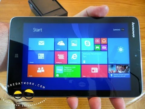 Lenovo Miix 2 8-inch Tablet Unboxing