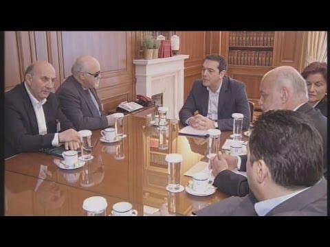 Συνάντηση Α. Τσίπρα με εκπροσώπους της  Ε.Σ.ΑμεΑ
