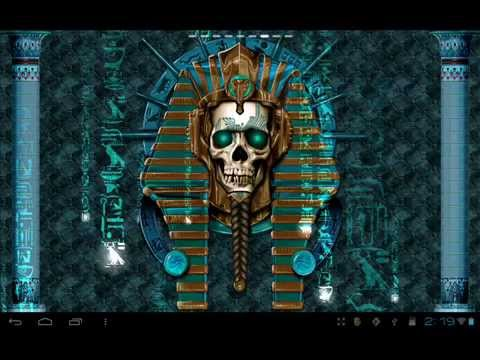 Video of Undead Pharaoh Skull Wallpaper