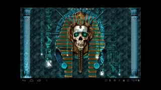 Undead Pharaoh Skull Wallpaper YouTube video