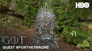 Throne of the Forest | Quest #ForTheThrone (HBO) - Dawn
