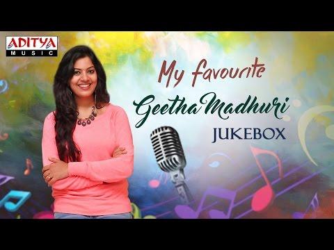 My Favourite ♥ Geetha Madhuri Telugu Hit Songs Jukebox