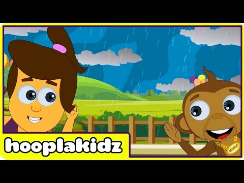 hooplakidz - To watch all popular nursery rhymes, click here http://bit.ly/19Wxnri Watch the popular nursery rhyme - I Hear Thunder. Here are the lyrics for I Hear Thunde...