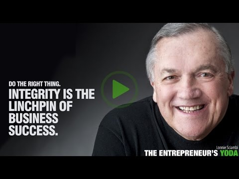 Watch 'Integrity is linchpin of small business success - YouTube'