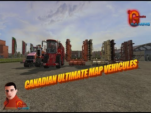 Canadian Ultimate Map Vehicules v1.0