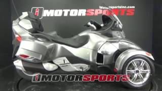 10. 2011 Can-Am Spyder RT-S Semi Automatic A3119 @ iMotorsports