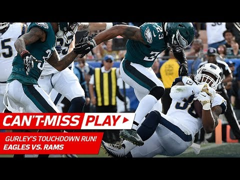 Video: Todd Gurley's TD Blast Set Up by Kayvon Webster's Tipped Pick! | Can't-Miss Play | NFL Wk 14
