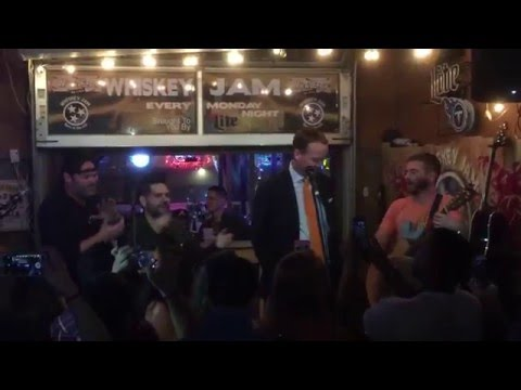 Peyton Manning got up to sing