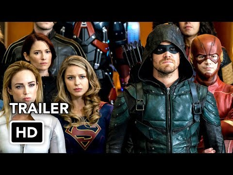 DCTV Crisis on Earth-X Crossover Full Trailer - The Flash, Arrow, Supergirl, DC's Legends (HD)