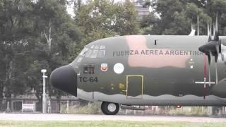 Video IMPRESIONANTE HÉRCULES C-130 en Aeroparque - Full HD MP3, 3GP, MP4, WEBM, AVI, FLV Juni 2018
