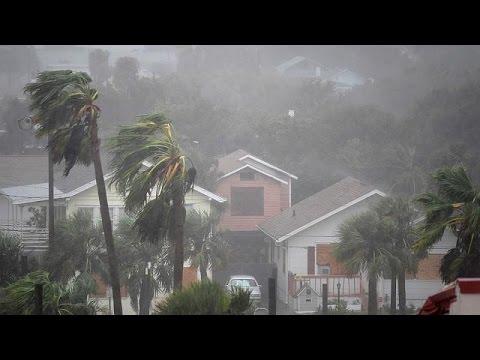 Ο τυφώνας Μάθιου πλήττει τις Ηνωμένες Πολιτείες