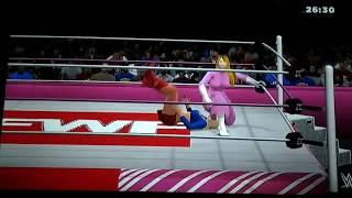 FWF SW pt5: Super Girl vs Peach