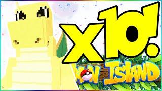CATCHING OUR 10TH SHINY POKEMON! - PIXELMON ISLAND SMP #21