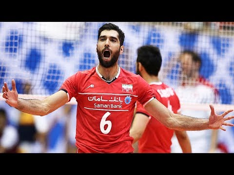 TOP 10 Amazing Volleyball Moments by Seyed Mousavi (محمد موسوی عراقی) | Champions Cup 2017 (видео)