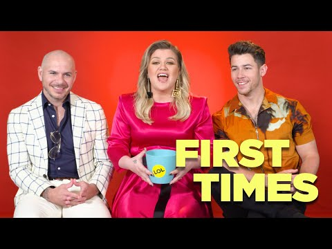 Nick Jonas, Kelly Clarkson, And Pitbull Tell Us About Their First Times